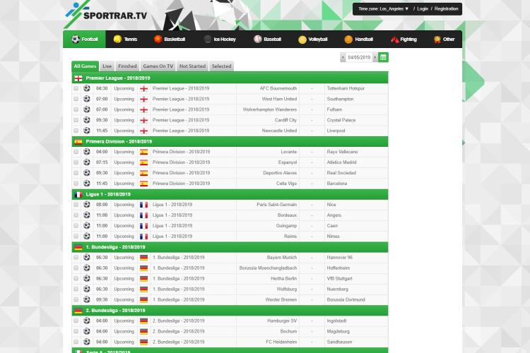 TheSportRar Live Sports Streams