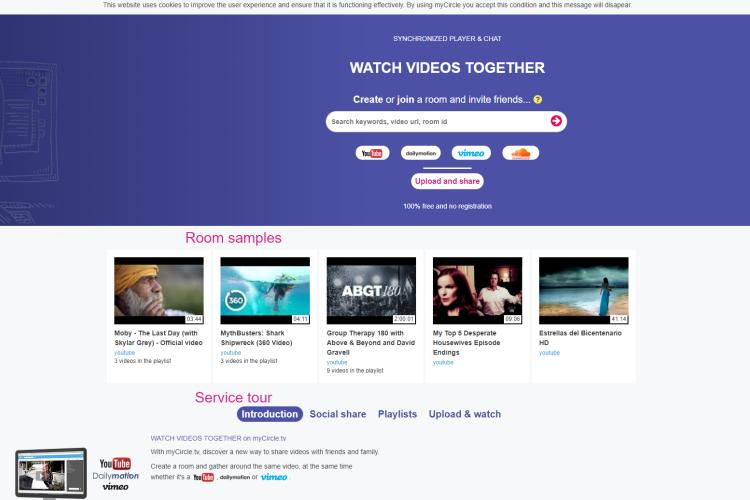 MyCircleTV Online Video And TVViewing Service