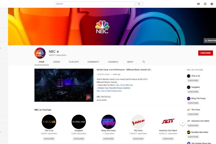 Youtube Local NBC Channels No Need for Cable