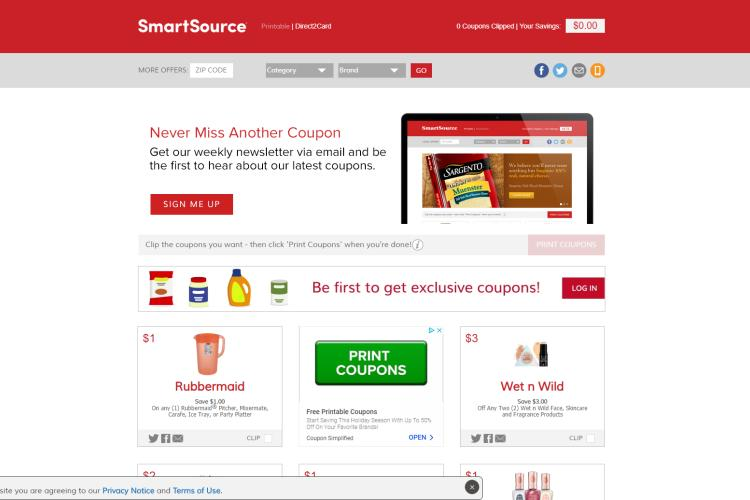 graphic relating to Coolsavings Printable Coupons called 50+ Suitable Internet websites for Absolutely free Printable Grocery Coupon codes