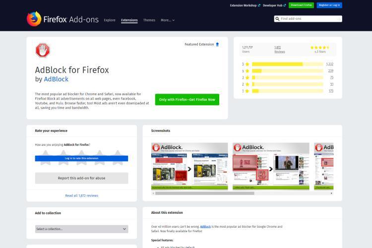 Free Best Ad Blocker for Firefox of 2019